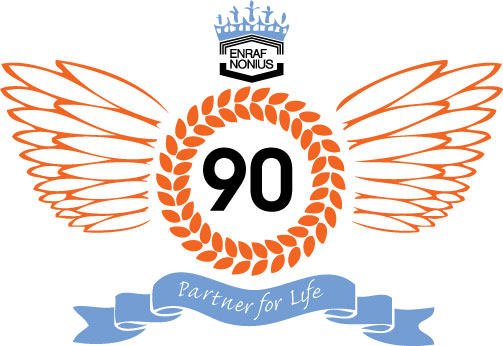 Enraf-Nonius-90-years-logo
